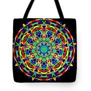Colorful Kolide  Tote Bag