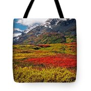 Colorful Land - Alaska Tote Bag