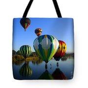 Colorful Landings Tote Bag