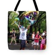 Colorful Large Bubbles Tote Bag
