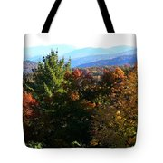 Colorful Layers Tote Bag