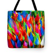 Colorful Leafs Tote Bag