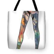 Colorful Legs Tote Bag
