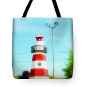 Colorful Lighthouse 2 Tote Bag