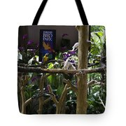 Colorful Macaw And Other Birds At The Jurong Bird Park In Singapore Tote Bag