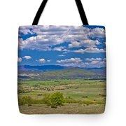 Colorful Nature Od Lika Region Tote Bag