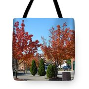 Colorful Ohio Trees Tote Bag