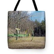 Colorful Old Farm Rake Tote Bag