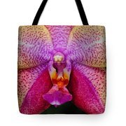 Colorful Orchid Tote Bag