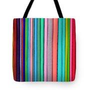 Colorful Pashminas Tote Bag