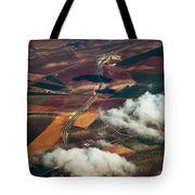 Colorful Patchwork Of Andalusian Fields 1. Spain Tote Bag