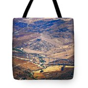 Colorful Patchwork Of Andalusian Fields. Spain Tote Bag