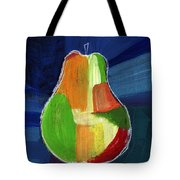 Colorful Pear- Abstract Painting Tote Bag