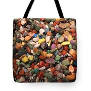 Colorful Polished Stones Tote Bag