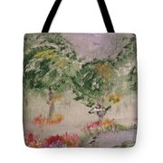 Colorful Pond Tote Bag