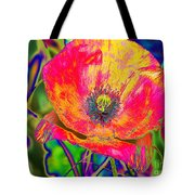 Colorful Poppy Tote Bag