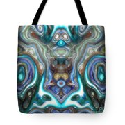 Colorful Reflections Of Glass Tote Bag