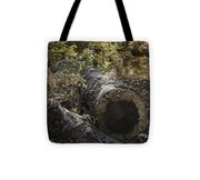 Colorful Resting Place Tote Bag