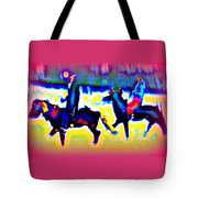 Remembering The Most Colorful Ride Tote Bag