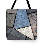 Colorful Rock Pavers Tote Bag