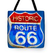 Colorful Route 66 Tote Bag