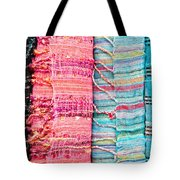 Colorful Scarves Tote Bag