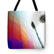 Colorful Seattle Tote Bag