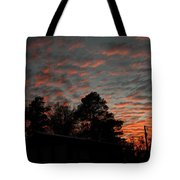 Colorful Sky Number 5 Tote Bag