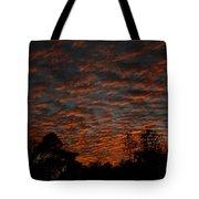 Colorful Sky Number 7 Tote Bag