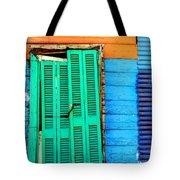 Colorful Slum Tote Bag