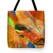 Colorful Snake Tote Bag