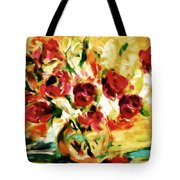 Colorful Spring Bouquet - Abstract  Tote Bag