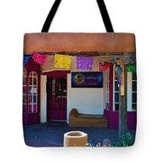 Colorful Store In Albuquerque Tote Bag
