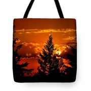 Colorful Sunset IIl Tote Bag