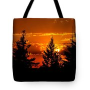 Colorful Sunset Tote Bag