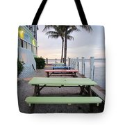Colorful Tables Tote Bag