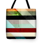 Colorful Textured Abstract Tote Bag