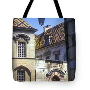 Colorful Tiled Rooftops Tote Bag