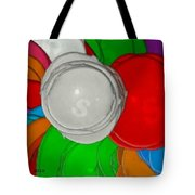 Colorful Toilet Seats Tote Bag