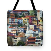 Colorful Town Tote Bag