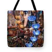 Colorful Traditional Turkish Lights  Tote Bag