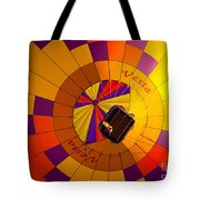 Colorful Underbelly Tote Bag