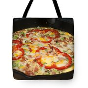 Colorful Vegetable Fritatta Tote Bag