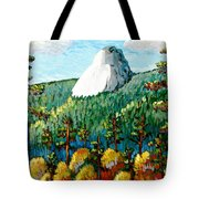 Colorful View Of Idyllwild California Tote Bag