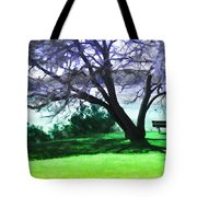 Colorful View Tote Bag