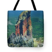 105830-colorful Volcanic Plug Tote Bag