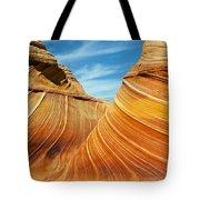 Colorful Waves Tote Bag
