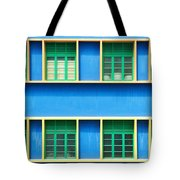 Colorful Windows Tote Bag by Yew Kwang