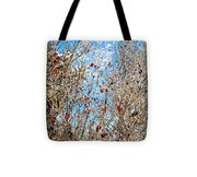 Colorful Winter Wonderland Tote Bag