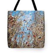 Colorful Winter Wonderland Tote Bag